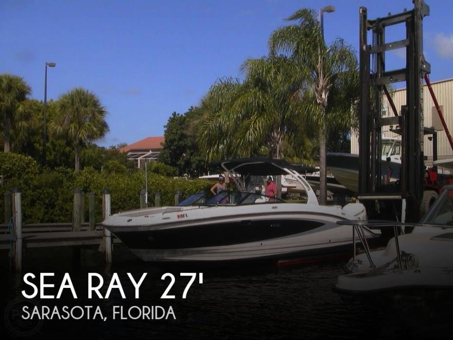 2017 Sea Ray Sundeck 270 SDX