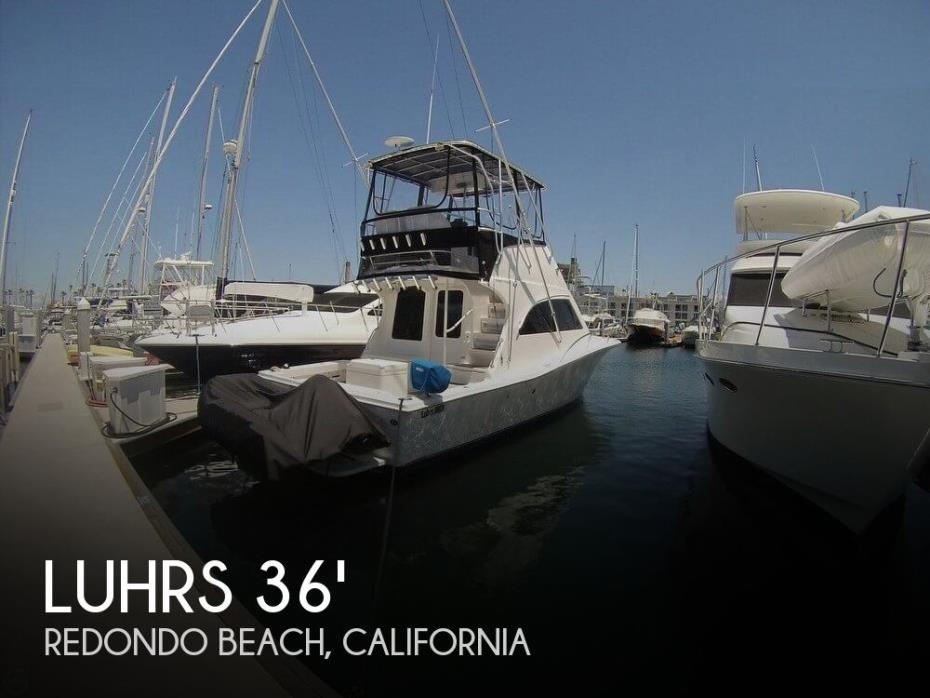 2005 Luhrs 33 Tournament Flybridge