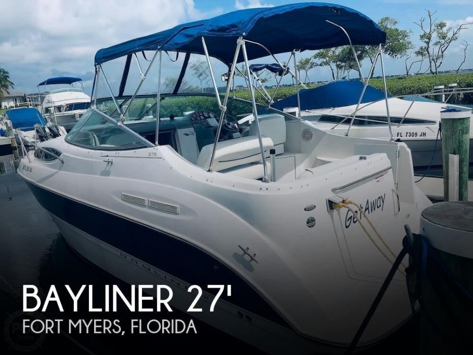 2007 Bayliner 27
