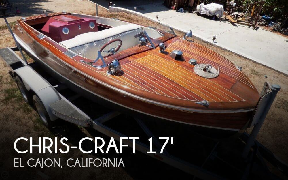 1947 Chris-Craft 17 Deluxe Runabaout