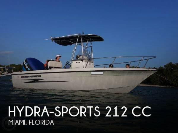 2002 Hydra-Sports 212 CC