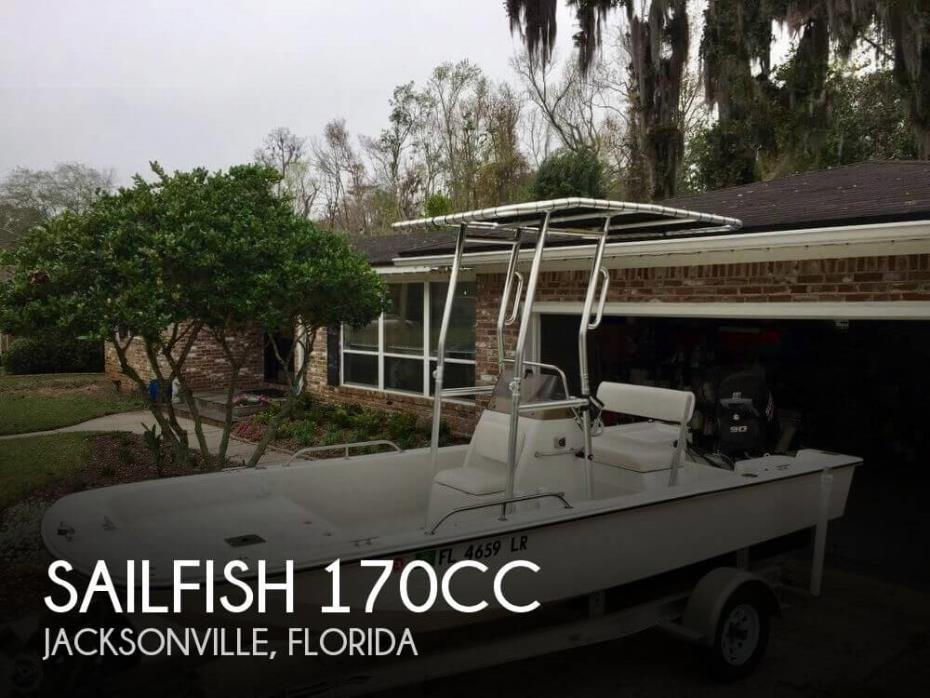2002 Sailfish 170CC