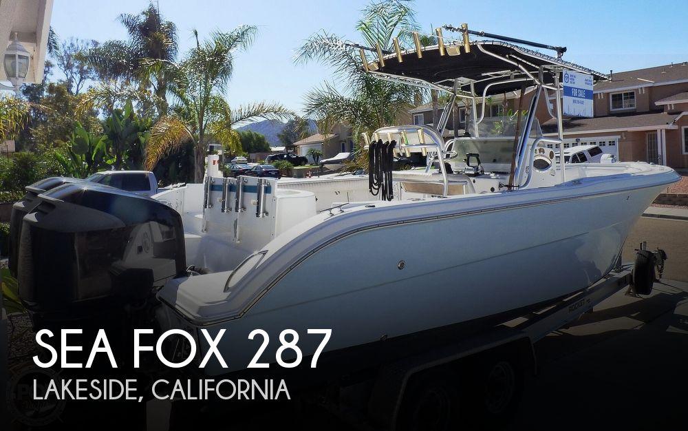 2006 Sea Fox 287 Center Console