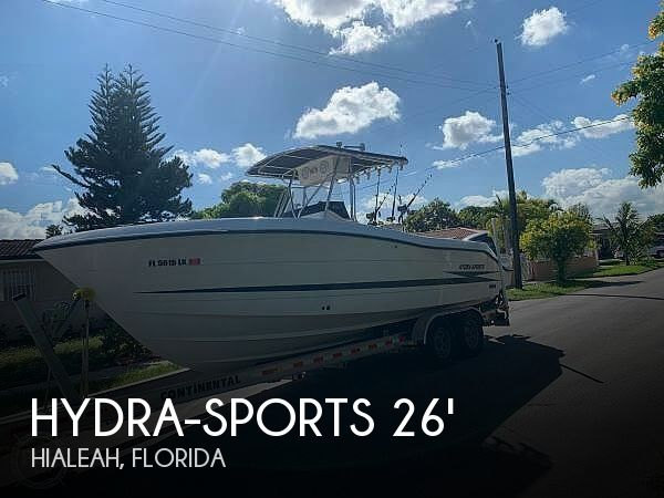 2000 Hydra-Sports Vector 2596 CC