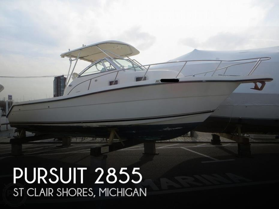 1996 Pursuit 2870 Walkaround