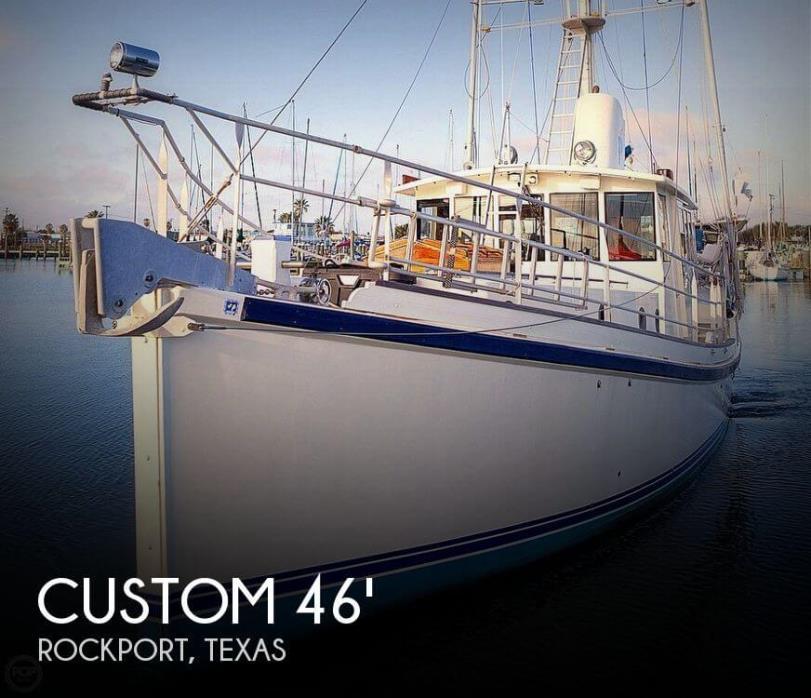 2009 Custom 46 Diesel Duck