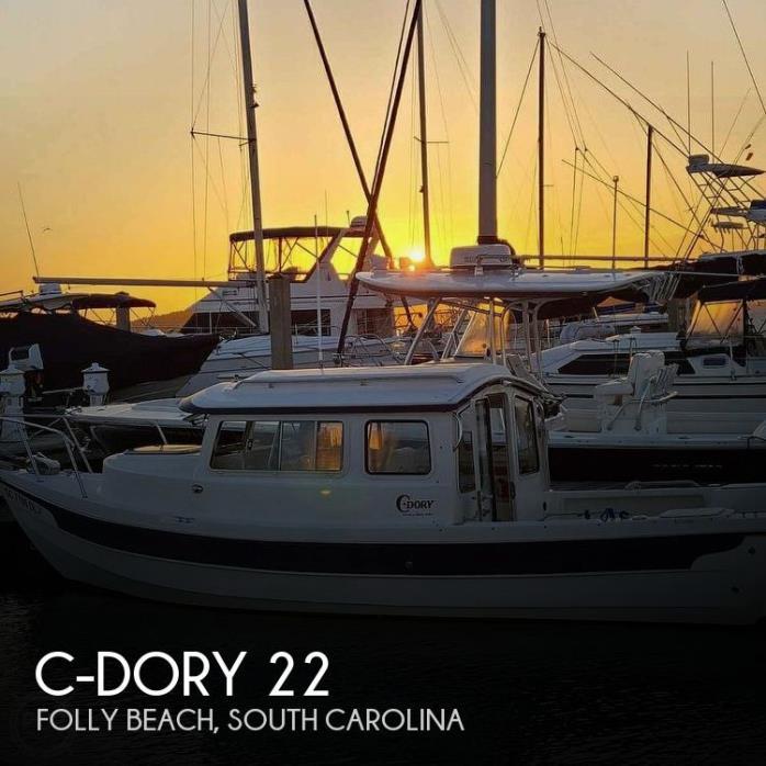 2016 C-Dory 22