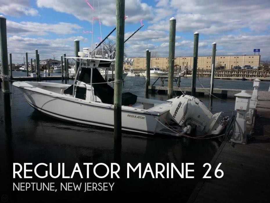 1992 Regulator Marine 26