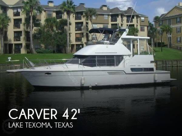 1995 Carver 390 Cockpit Motor Yacht