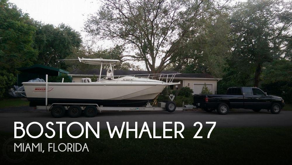 1988 Boston Whaler 27 Center Console Cuddy