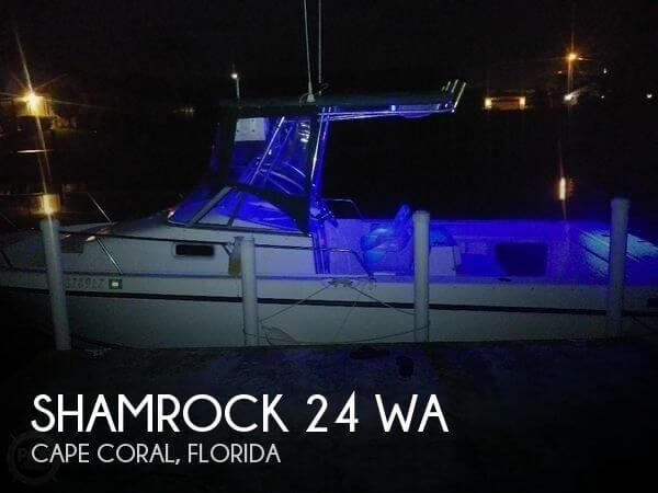 2002 Shamrock 246 WA