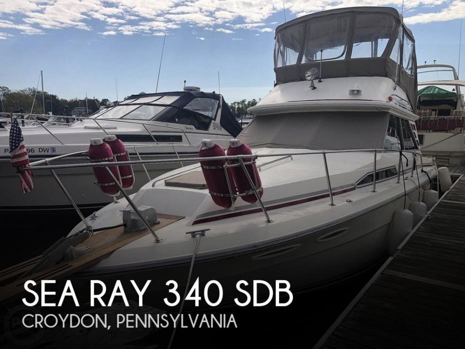 1987 Sea Ray 340 SDB