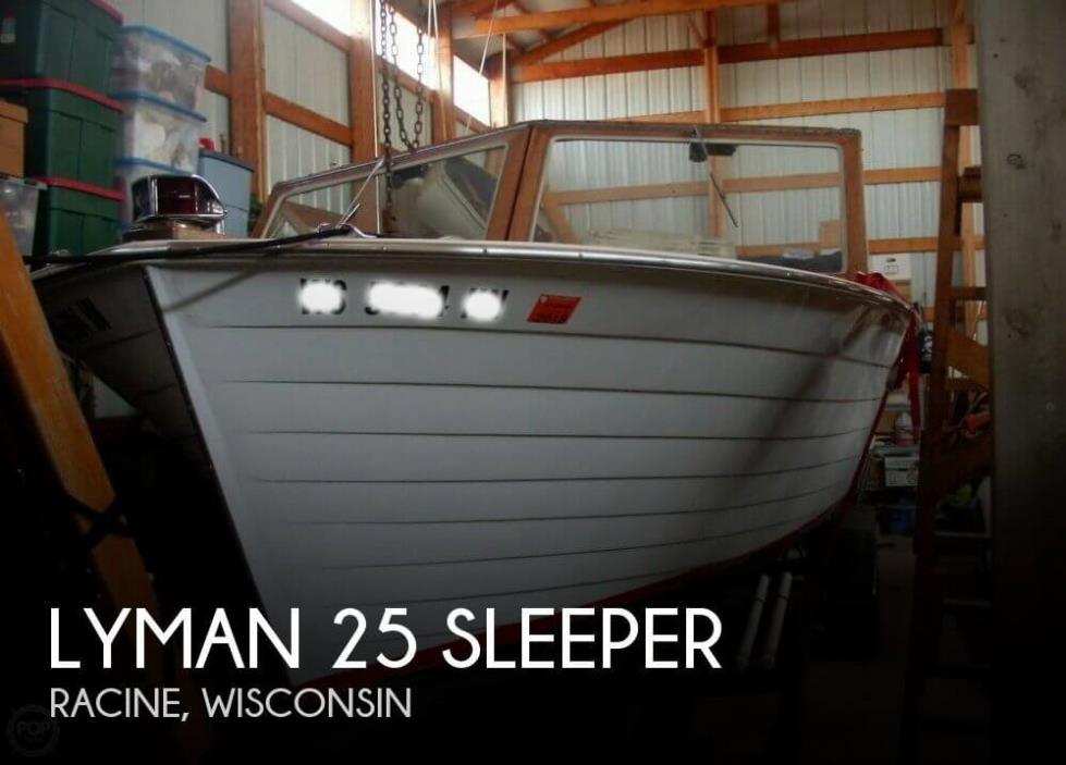1965 Lyman 25 sleeper