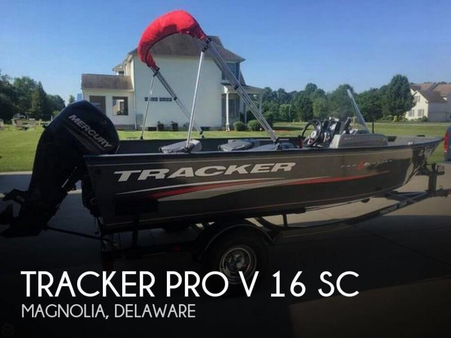 2016 Tracker Pro V 16 SC