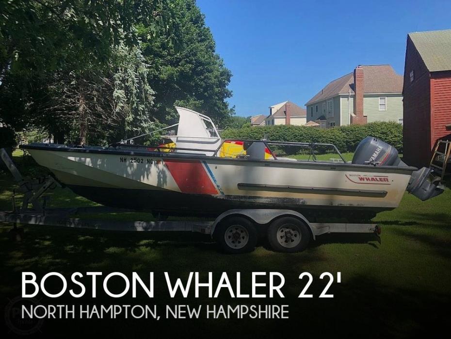 1987 Boston Whaler 22 Guardian