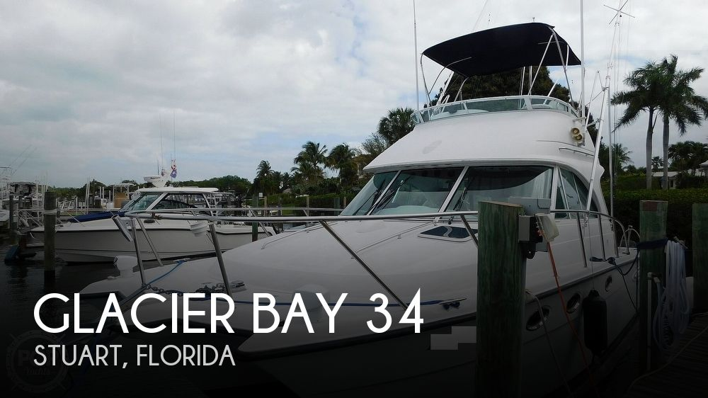 2005 Glacier Bay 3490 Flybridge Ocean Runner