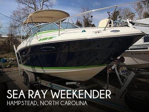 2001 Sea Ray Weekender