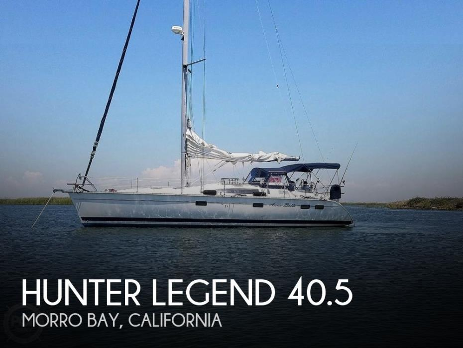 1997 Hunter Legend 40.5