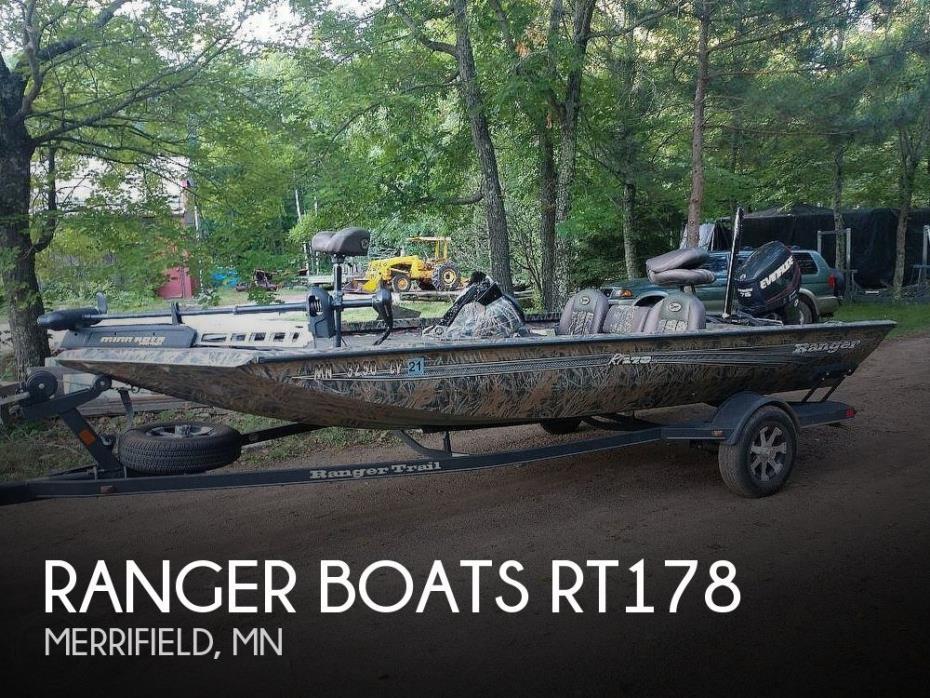 2016 Ranger Boats RT 178