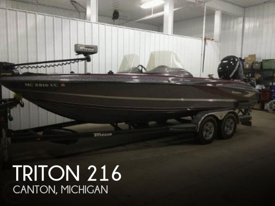 2017 Triton 216 Fishunter
