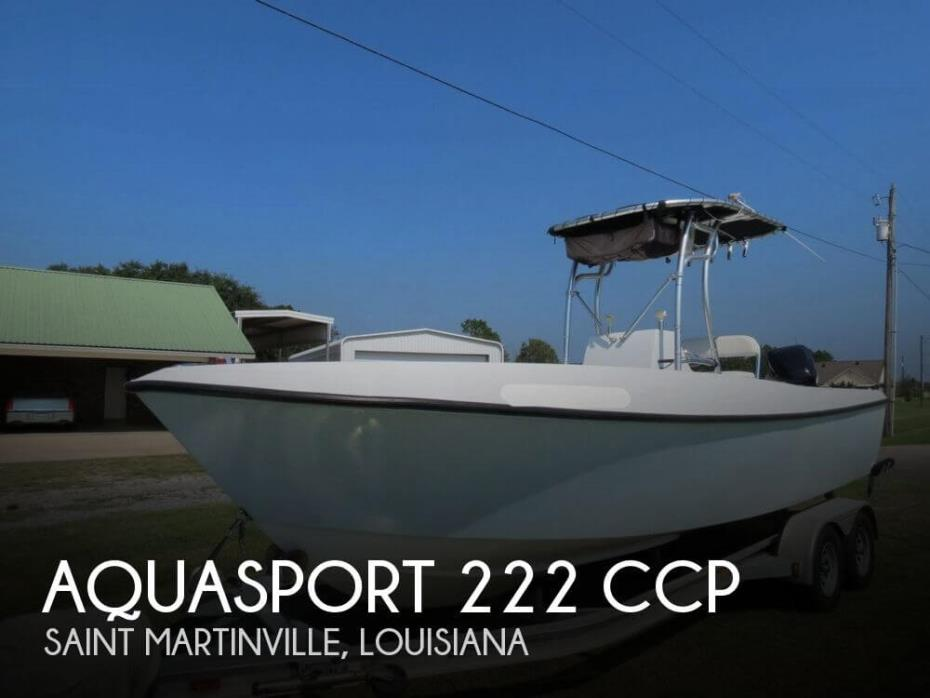 1984 Aquasport 222 CCP
