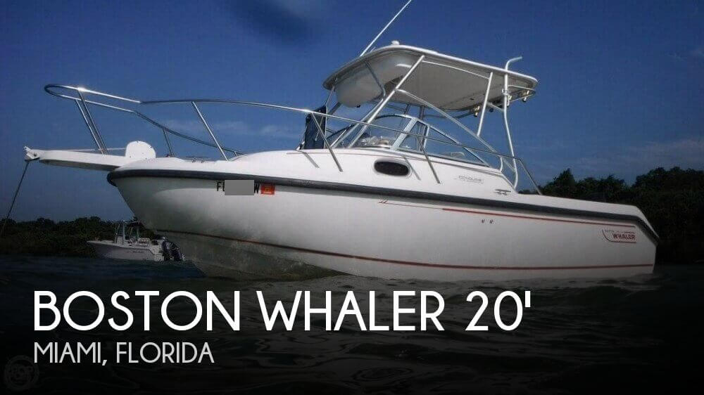 2000 Boston Whaler Conquest 21 WA