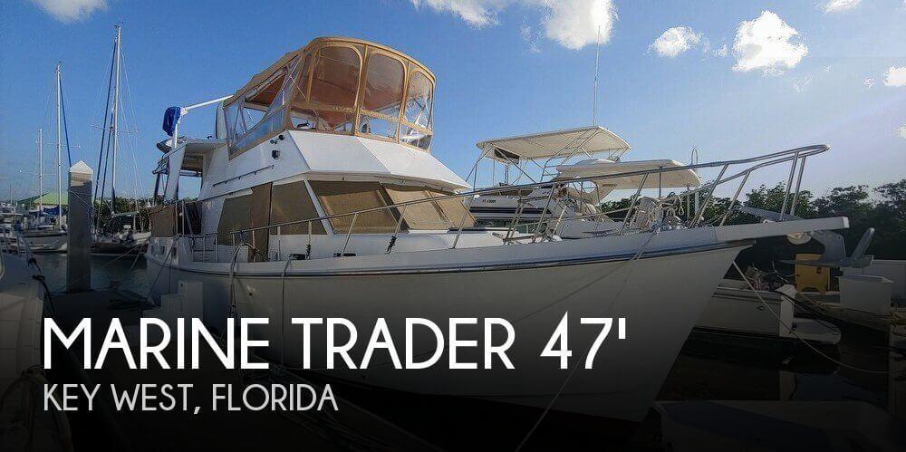 1985 Marine Trader 47 Tradewinds