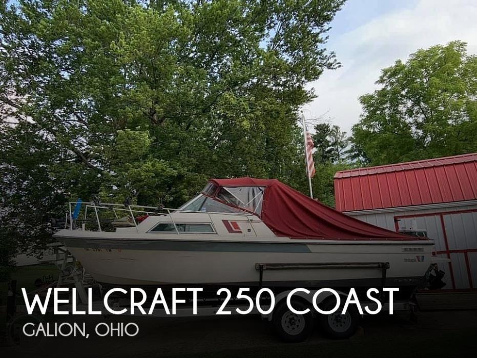 1987 Wellcraft 250 Coastal