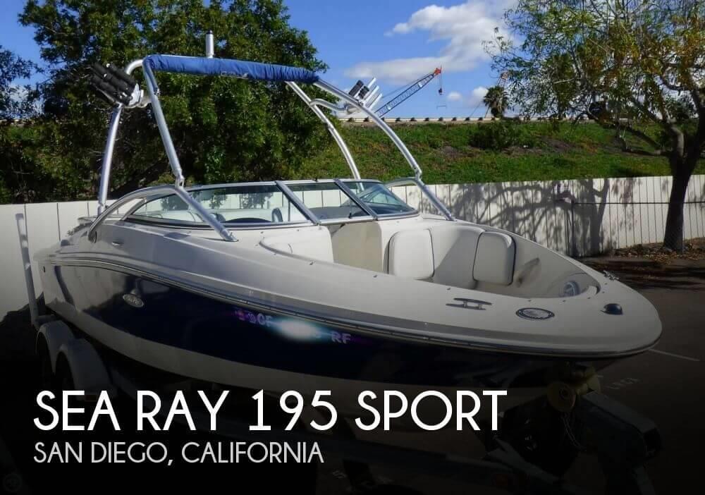 2006 Sea Ray 195 Sport
