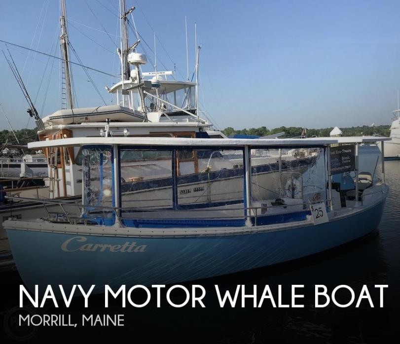 1987 Navy Motor Whale boat 26