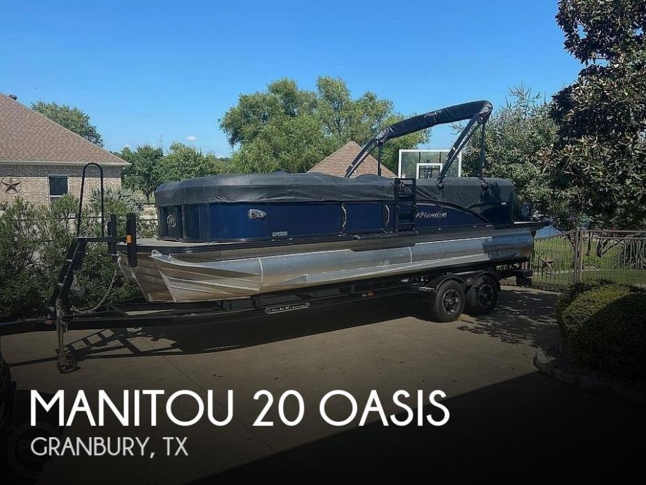 2018 Manitou 23 Oasis SHP