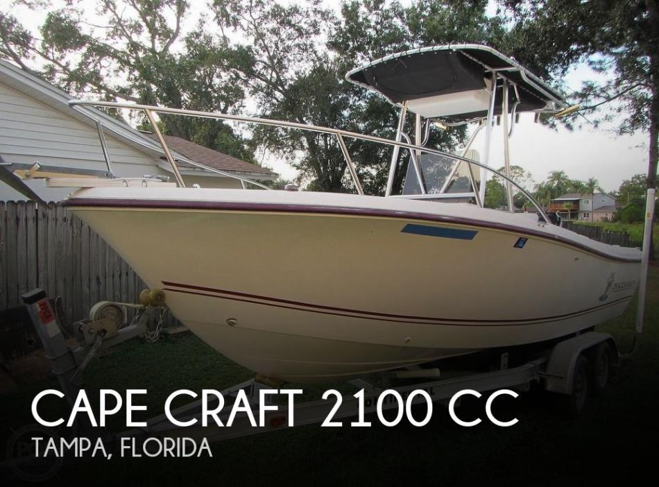 2002 Cape Craft 2100 CC