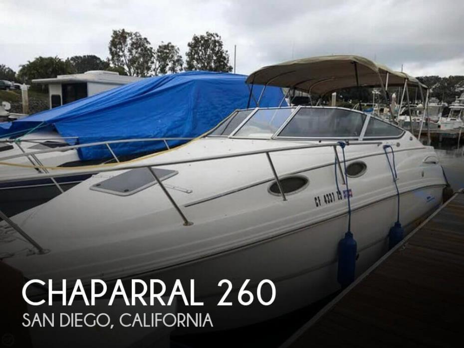 2004 Chaparral 260