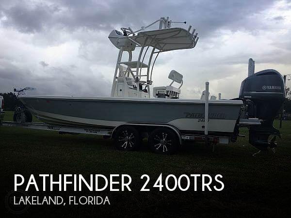 2016 Pathfinder 2400trs