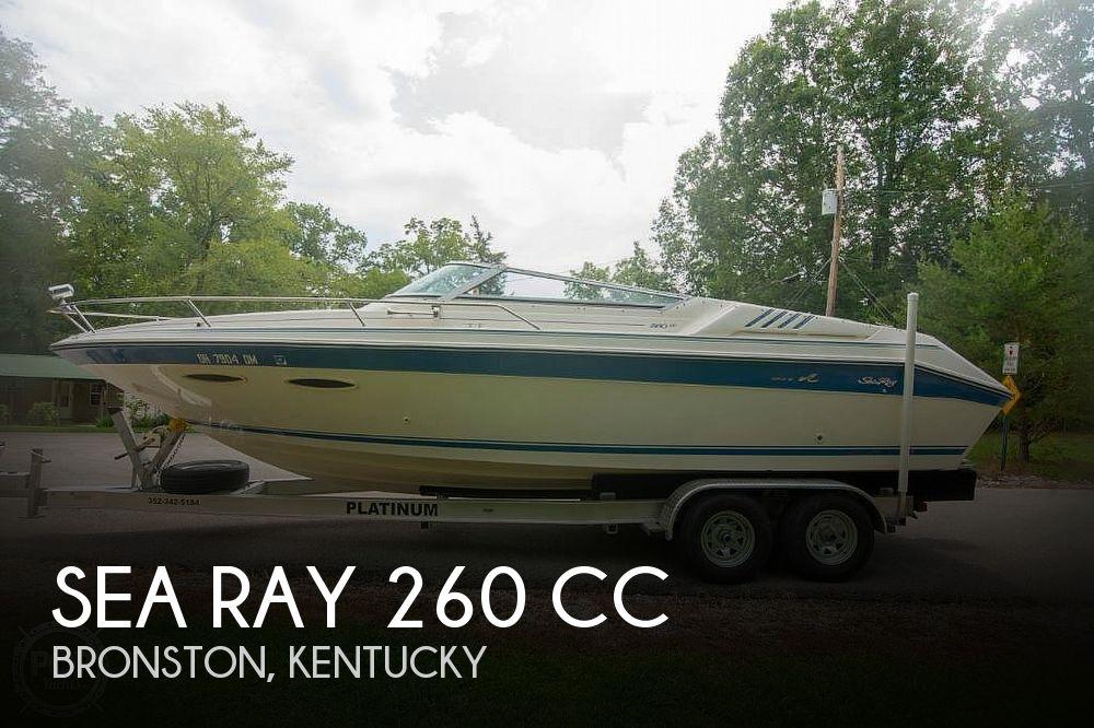 1990 Sea Ray 260 CC