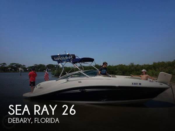 2007 Sea Ray 26