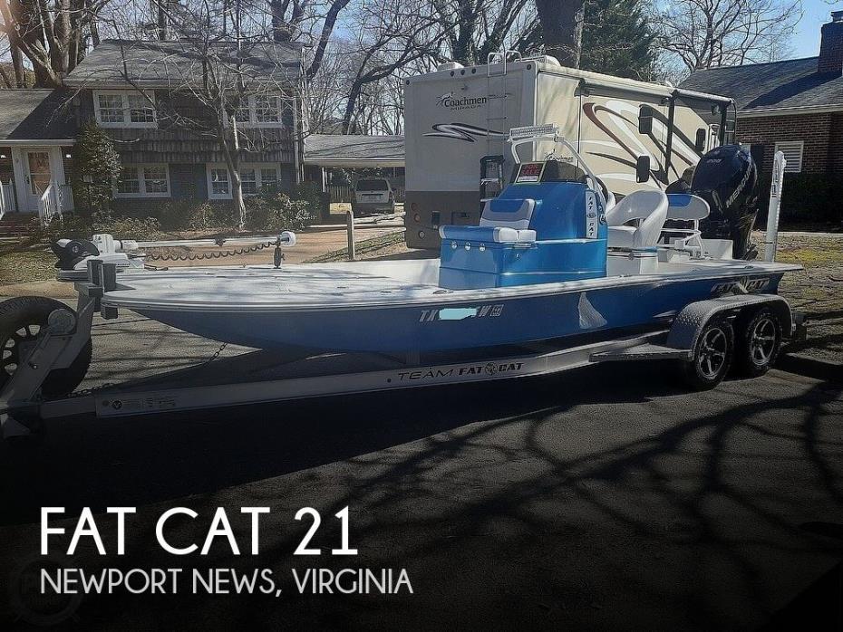 2020 Fat Cat Manta Ray CB 21