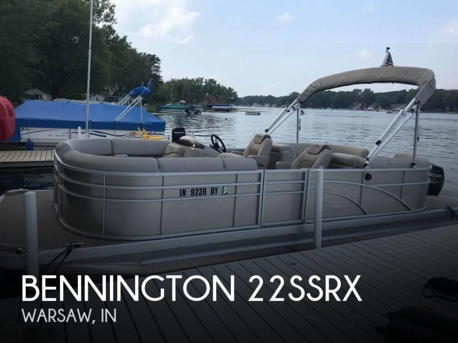 2017 Bennington 22SSRX