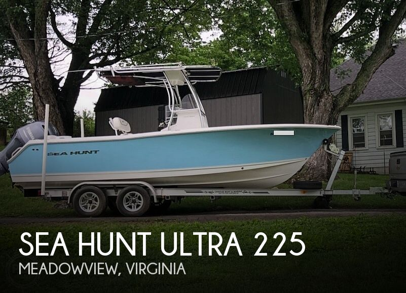 2015 Sea Hunt Ultra 225