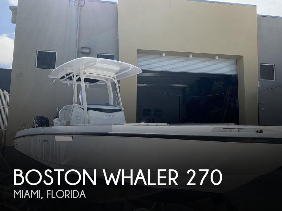 2013 Boston Whaler 270 Dauntless
