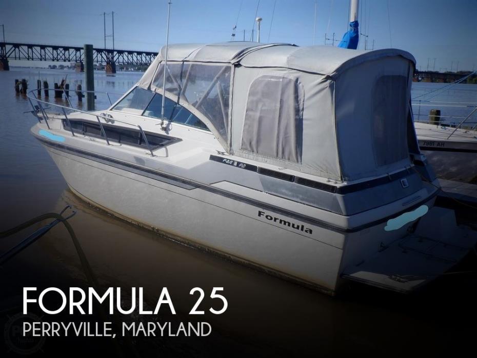 1987 Formula PC 25