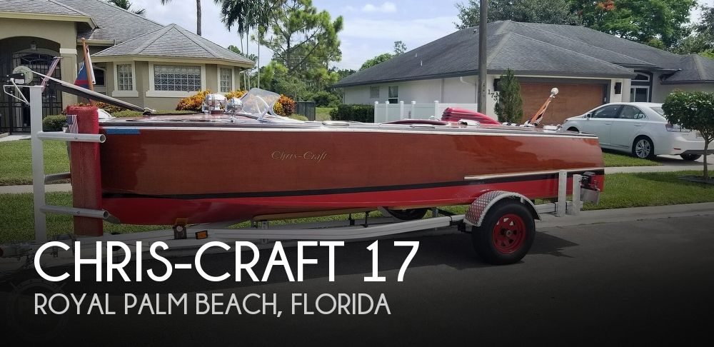 1948 Chris-Craft Custom Deluxe 17