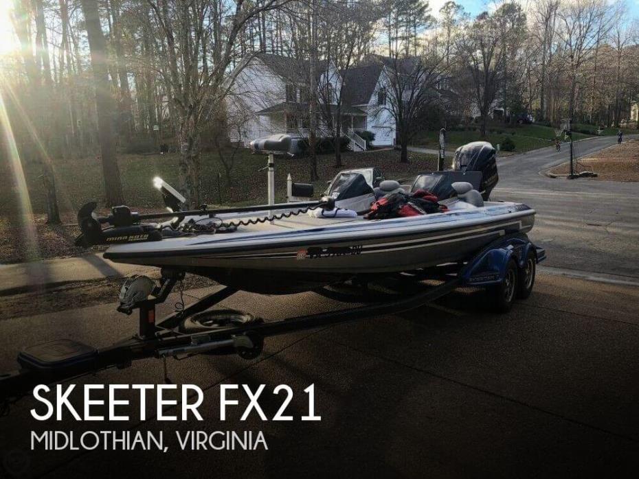 2013 Skeeter FX21