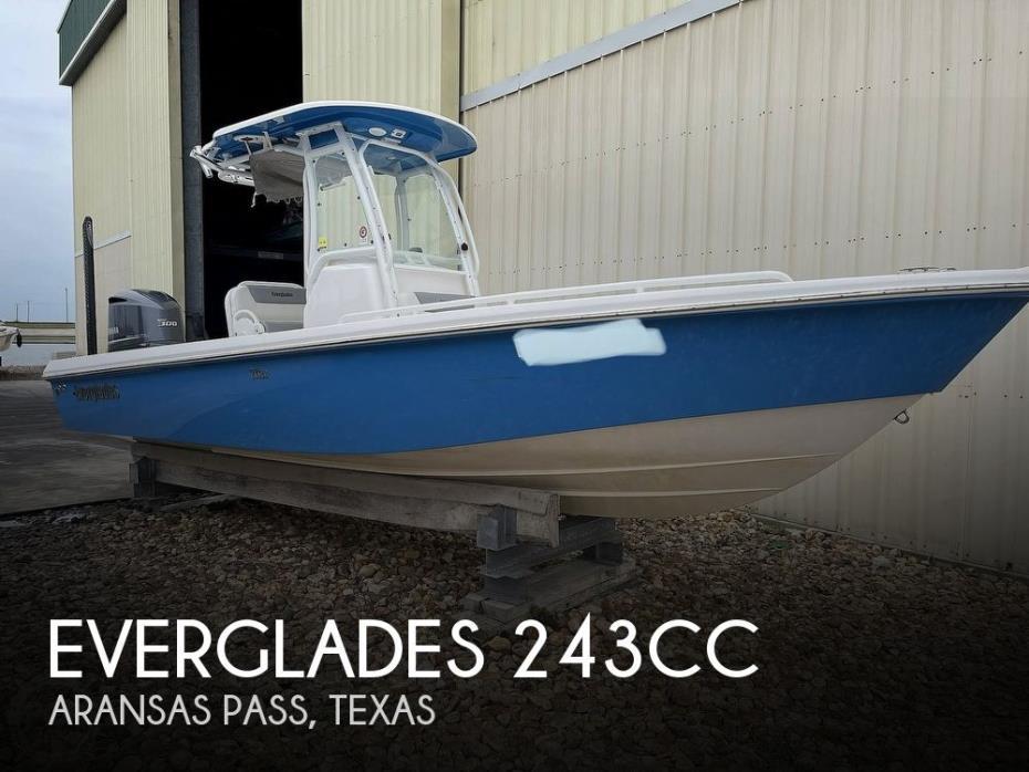 2015 Everglades 243CC