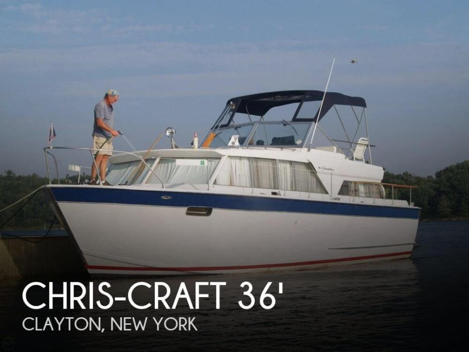 1967 Chris-Craft 36 Cavalier Motor Yacht