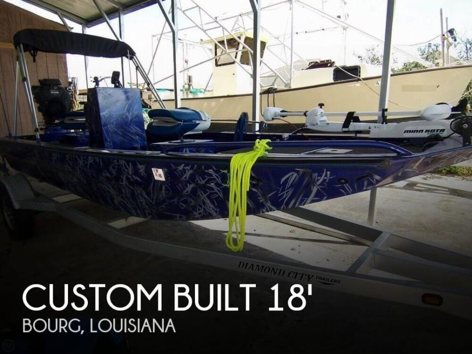 2016 Custom Built 18 Bowfish Mud Duck Fish Frog