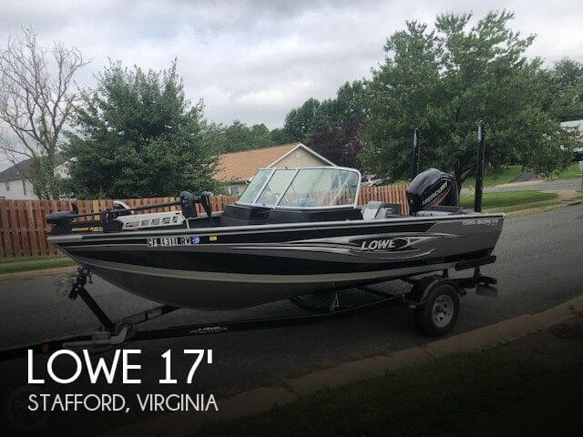 2015 Lowe Fishing Machine 1710