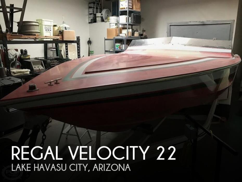 1987 Regal Velocity 22