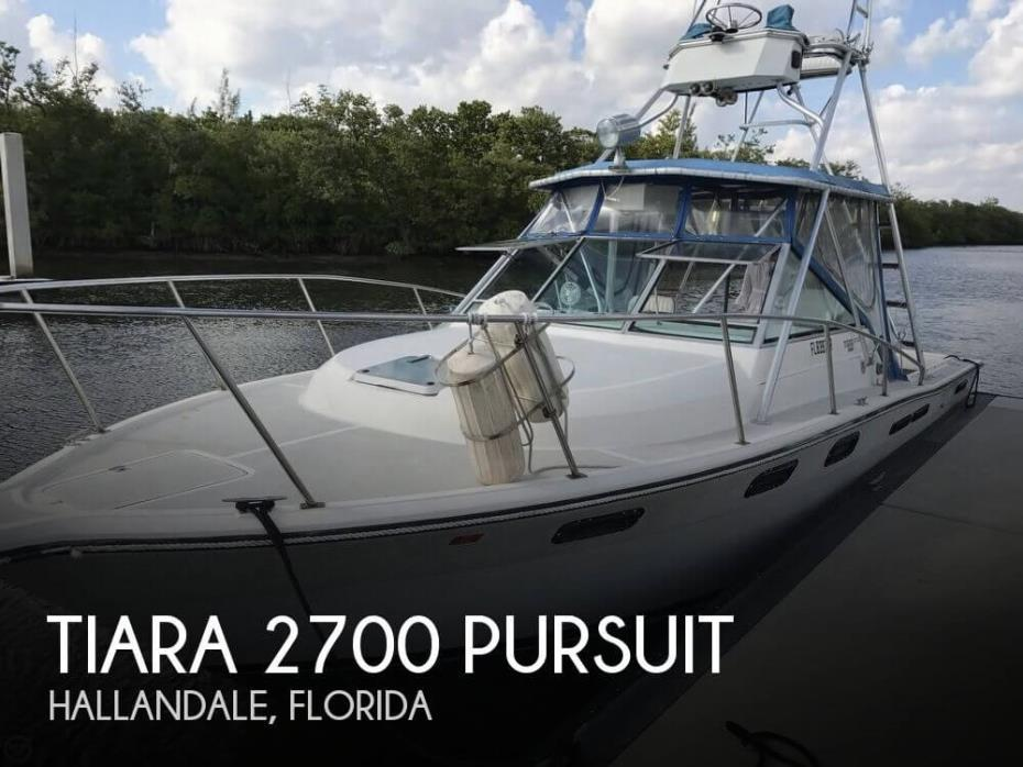1985 Tiara 2700 Pursuit