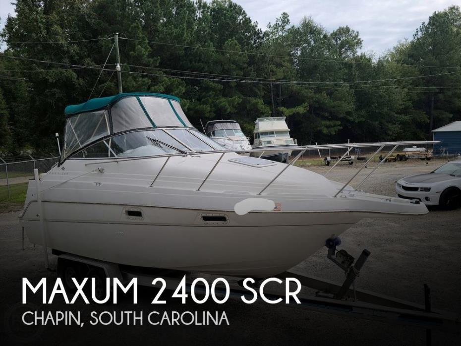 1997 Maxum 2400 SCR